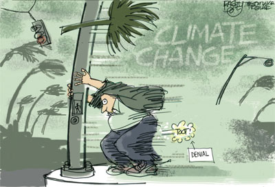 Republican Climate Change denial, a fart in the wind