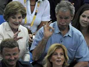Drunk george bush
