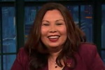 Senator Tammy Duckworth, Trump Can't Out-Crazy Kim-Jong-un - Seth Meyers