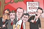The Republican Doomsday Cult, a MarkFiore Cartoon
