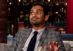 Aziz Ansari Is A Feminist  David Letterman