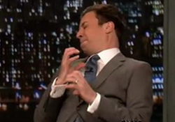 Hashtags: #MyWeirdWaiter  Jimmy Fallon