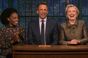 Seth Meyers - Jokes Seth Can't Tell with Hillary Rodham Clinton