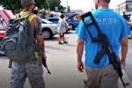 40 Open Carry Texans Use Automatic Weapons to Bully, Intimidate 4 Women in Restaurant. Lawrence O