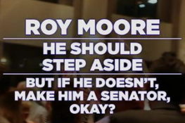 Seth Meyers A Closer Look - Trump Backs Roy Moore, Charlie Moore Fired for Sexual Harrassment!