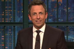 Seth Meyers Pays Tribute to His Favorite Teacher