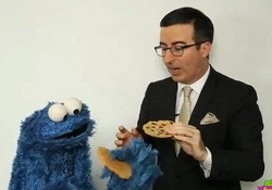 Furchester Hotel: On Last Week Tonight John Oliver has Bad News for Cookie Monster