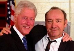 Kevin Spacey,Bill Clinton