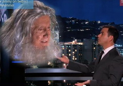 Jimmy Kimmel Talks to God About Big Bang Theory  Regis?
