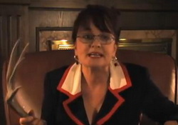 Sarah Palin: On International Relations & Tips. Comedian Julie Brown