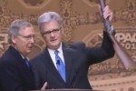 CPAC: Mitch McConnell Awards NRA Rifle to Coburn