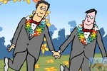 Republicans Love Gay Marriage,  animation Mark Fiore