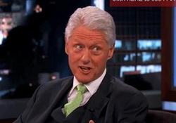 Bill Clinton:Obamacare & Economic Prediction! Rob Ford for VP?  Jimmy Kimmel