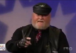 Hilarious Idaho Debate Goes Viral, Biker vs Grouchy Santa