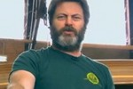 Nick Offerman from Parks and Recreation Reads Tweets From Young Female Celebrities    Conan O