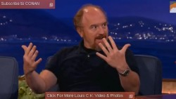 Louis C.K. Hates Cell Phones, Loves a Good Cry, Conan O