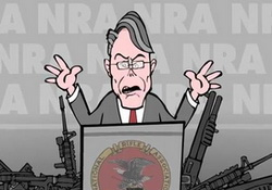 NRA Hynosis: Guns, Sweet Guns! NRA Convention