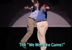 Hilarious! Evolution of Dad Dancing:Jimmy Fallon & Chris Christie