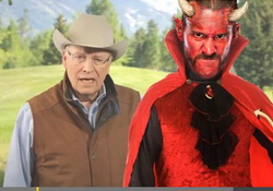 Dick Cheney & Satan: Alliance for a Scared America  Betty Bowers