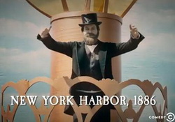 Drunk History: Congress Rejects Gift, Statue of Liberty!  Comedy Central