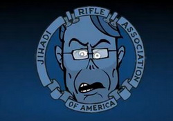 NRA: Jihadi Rifle Association.  Cartoon Video