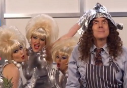 """Weird Al"" Yankovic Music Video ""FOIL"" a Parody of ""Royals""by Lorde"
