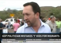 GOP Candidate Leads Protest of Y Camp Bus Mistaken for Migrants