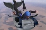 Andy Richter Reports:Skydive With Dolphins, Animal Catapult. Conan O