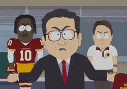 South Park Trolls Redskins Dan Snyder With Promo Aired During Game