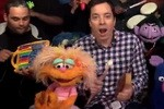 Sesame Street Gang, The Roots & Jimmy Fallon With Classroom Instruments, & Original Rap