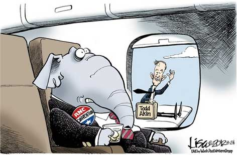 GOP monster on the wing