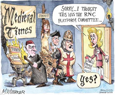 gop platfrom from dark ages