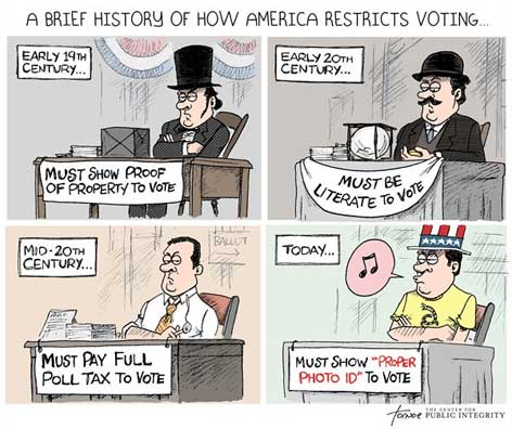 republican suppressing the vote