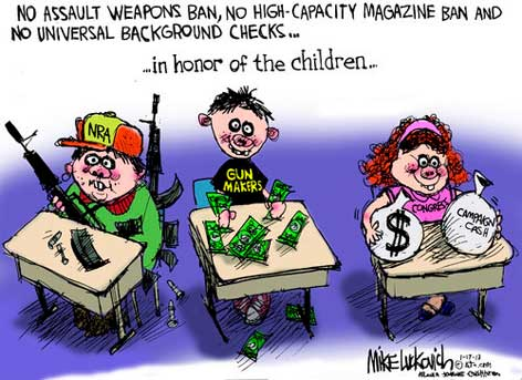 nra loves guns more than kids