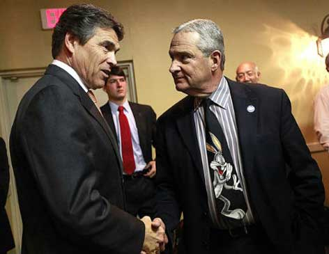 Judge Tom Horn and friend Rick Perry