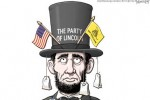 Tea Party abe lincoln
