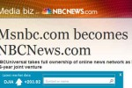 MSNBC name change to NBCNews