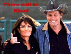 Ted nugent and Sarah Palin