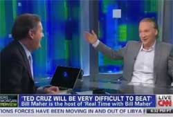 bill maher ted cruz