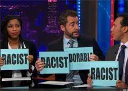 Daily show racism