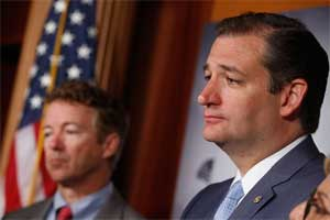 rand paul fading to ted cruz