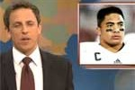 seth meyers manti teo