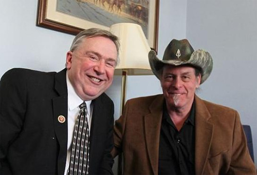 ted nugent and steve stockman