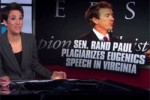Rand paul maddow