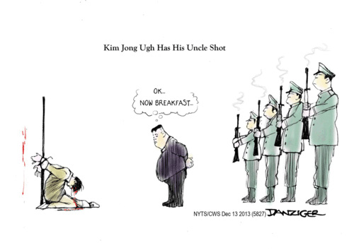 kim jong un shoots his uncle
