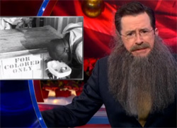 "Stephen Colbert admits it is ""Not the kind of elegant speech one"