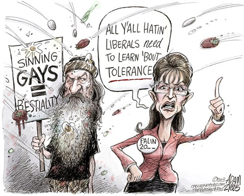 duck dynasty sarah palin