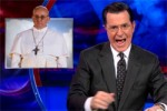 colbert mad at pope