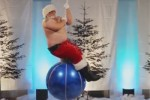 wrecking ball santa