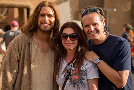 Actor Roma Downey: The Bible Miniseries